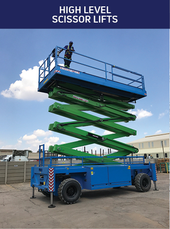 High Level Scissor Lifts