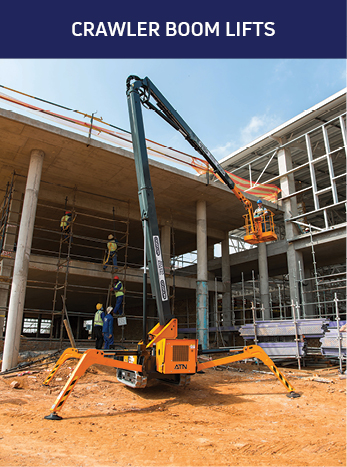 Crawler Boom Lifts