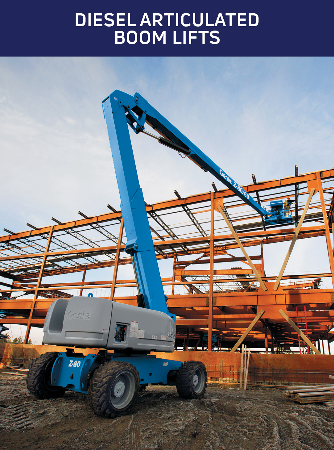 Diesel Articulated Boom Lifts