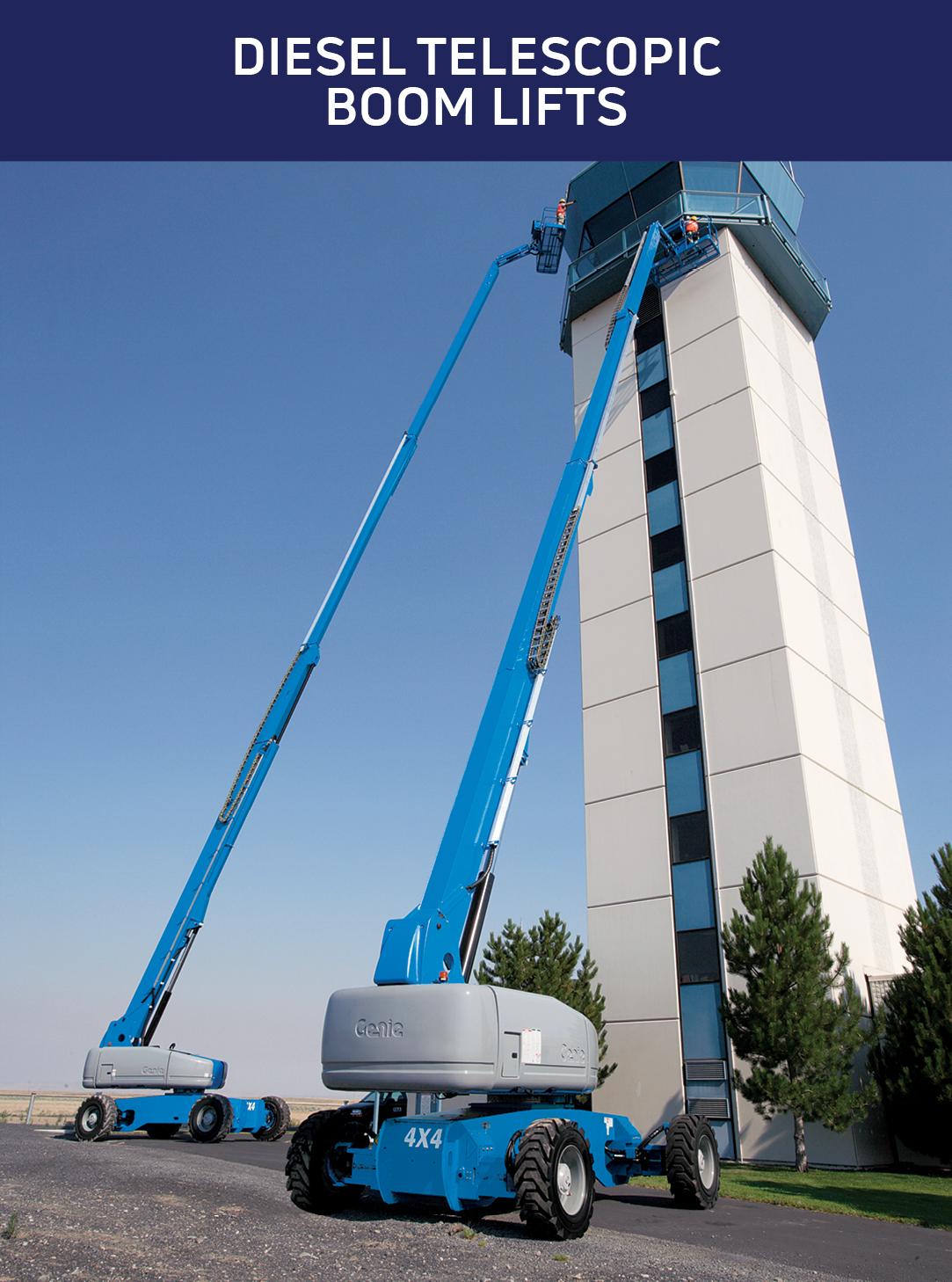 Diesel Telescopic Boom Lifts