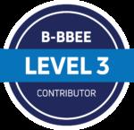 B-BBEE Level 3 Contributor